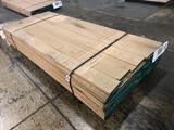 Approx 93 pcs of Oak Lumber, 4/4 thick