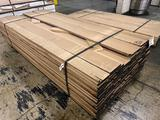 Approx 160 pcs of Prime Red Oak Lumber, 4/4 thick