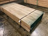 Approx 90 pcs of Soft Maple Lumber, 4/4 thick