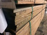 Approx 30 pcs of Oak Lumber, 4/4 thick.