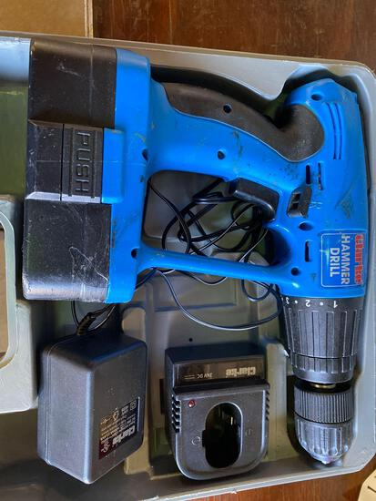 Clarke Co 24v Cordless Hammer Drill with Charger & Battery