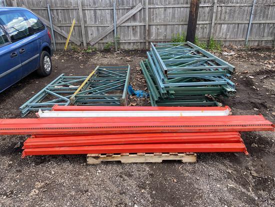 Large Pallet Racking Lot-Read description for sizes.