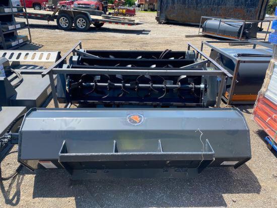 New Wolverine 72 in Rototiller Hydraulic Skidloader Attachment
