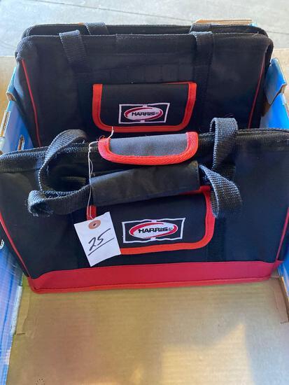 (2) New Harris Co HD Tool Bags