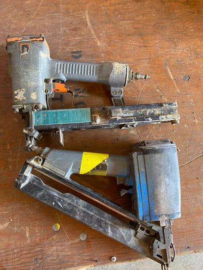 (2) Air Tools-Stapler & Nailer