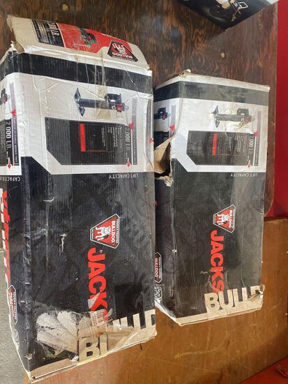 (2) New 2000lb Bulldog Trailer Jacks