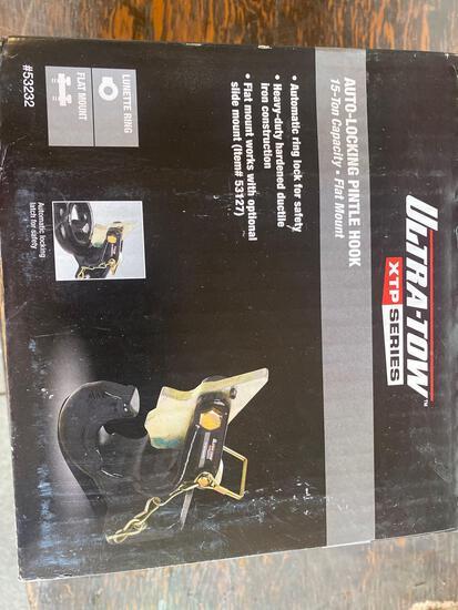 New Ultra Tow Auto Locking 15 ton Pintle