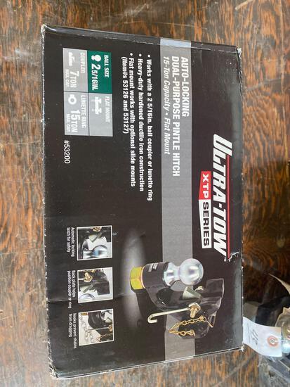 New Ultra Tow Auto Locking 15 ton Dual Purpose Pintle