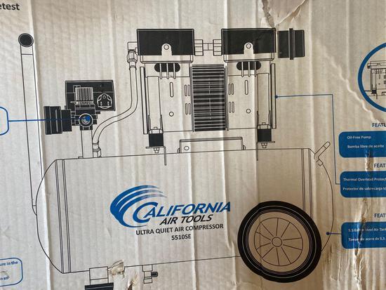 New in Box California Air Tools Co Ultra Quiet Air Compressor