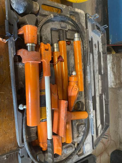 Central Hydraulic Co 10 ton Portable Puller Kit