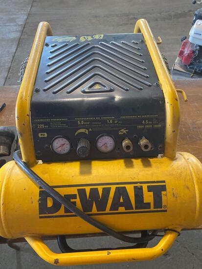 Dewalt 225 psi air compressor