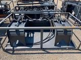 NEW Wolverine 72 in Hydraulic Skidloader Grapple Bucket