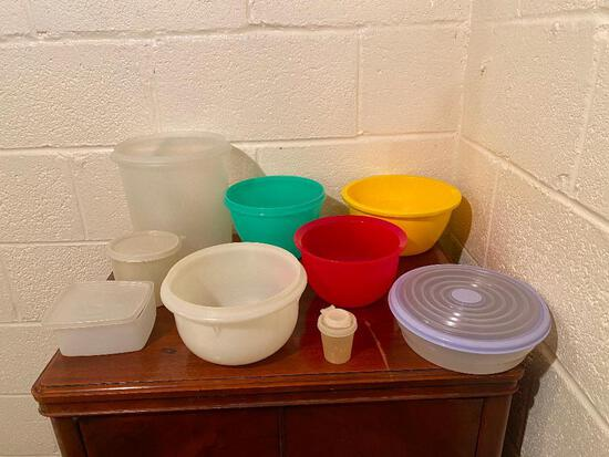 Vintage Tupperware Bowls and Canisters