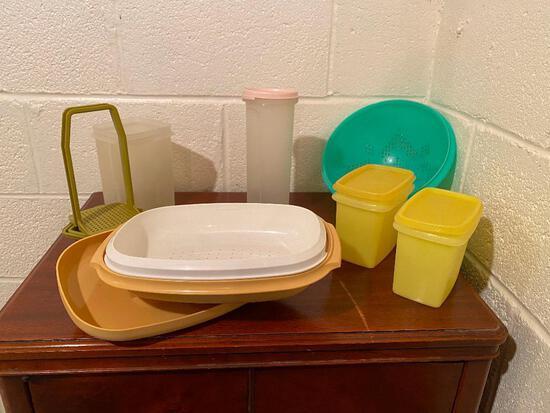 Vintage Tupperware Steamer, Bowls