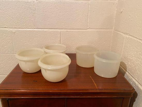 Vintage Tupperware Bowls and a Deviled Egg Tray
