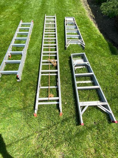 4 Ladders in Various Sizes