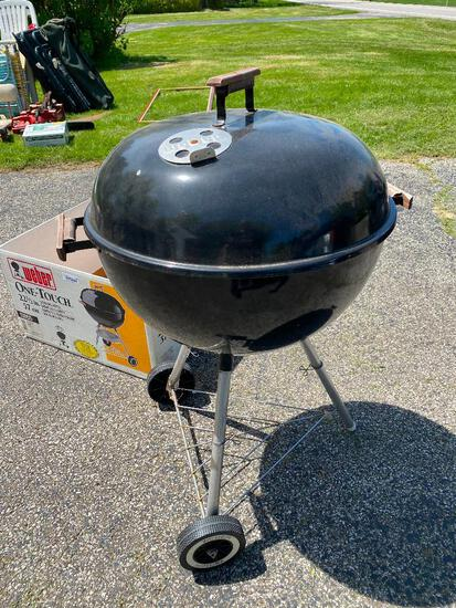 """Weber 22"""" One-Touch Charcoal Grill - Black"""