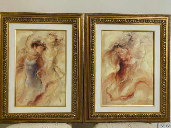 2 Framed Peter Nixon Prints