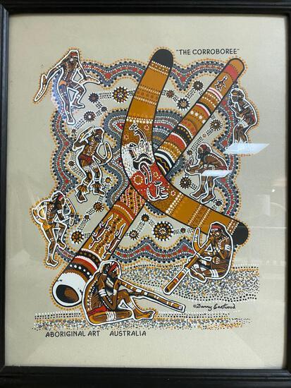 Aboriginal Screen Print