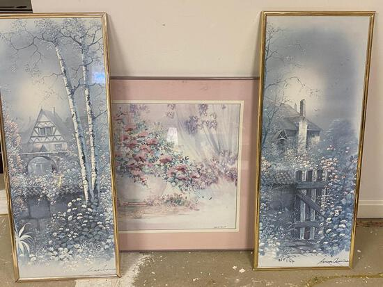 3 Vintage Framed Scenes - 2 From Andres Orpinas