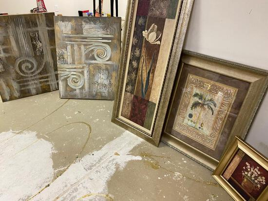 5 Contemporary Framed Prints