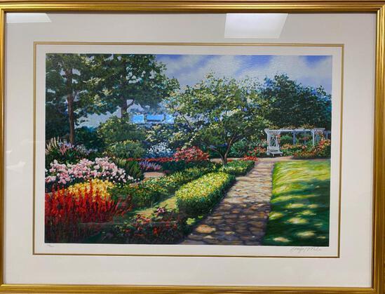 "Schafer / Miles ""Arbor Vista"" Framed Print"