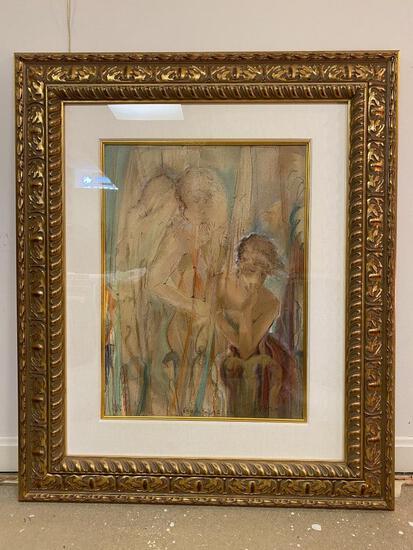 """Gary Benfield Framed Print, """"Trilogy"""""""