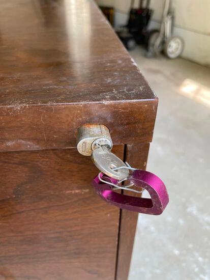 Art Metal Two-Drawer File Cabinet