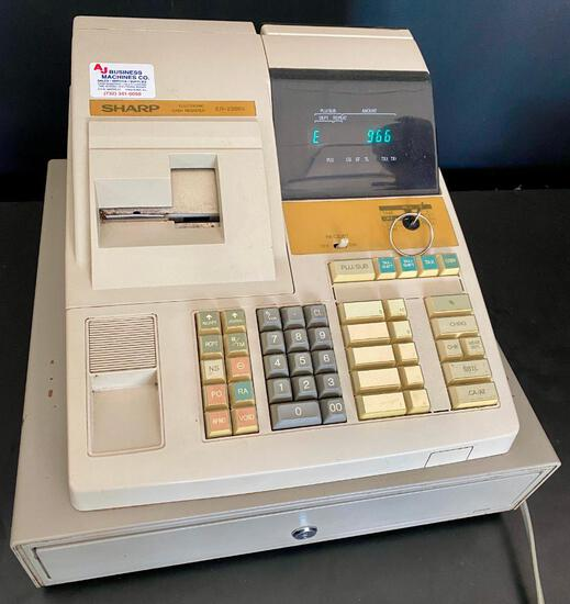 Sharp Electronic Cash Register