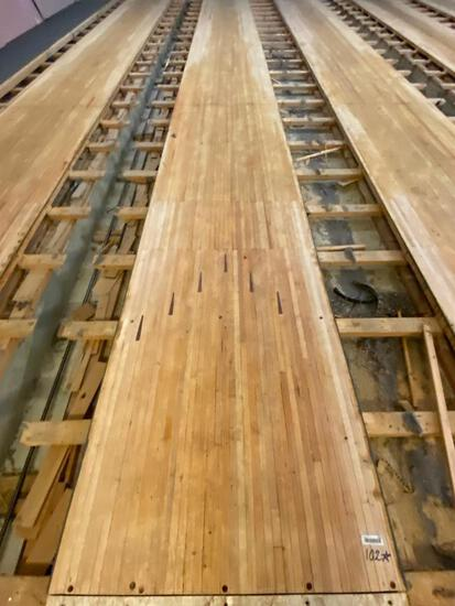 Reclaimed Wood - Vintage Bowling Alley Lane
