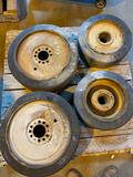 4 Monarch Fork Lift Tires