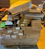 HUGE Lot of Commercial Fluorescent Light Fixtures and Bulbs
