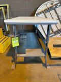 Metal and Laminate Work Bench