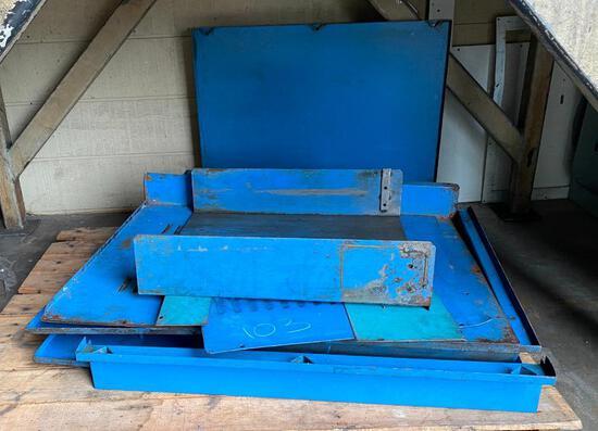 Assorted Metal Panels