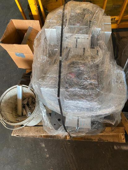 Pallet of Aluminum Machined Parts
