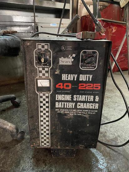 DIEHARD Engine Starter, Battery Charger