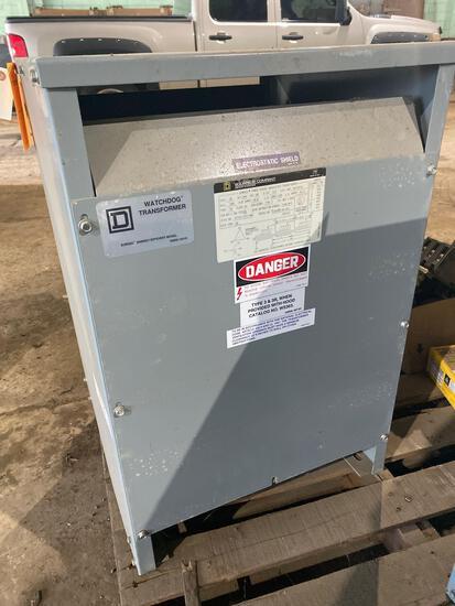 Square D Co WatchDog Transformer- 30KVA, 60hz, serial 4105085-N0-001