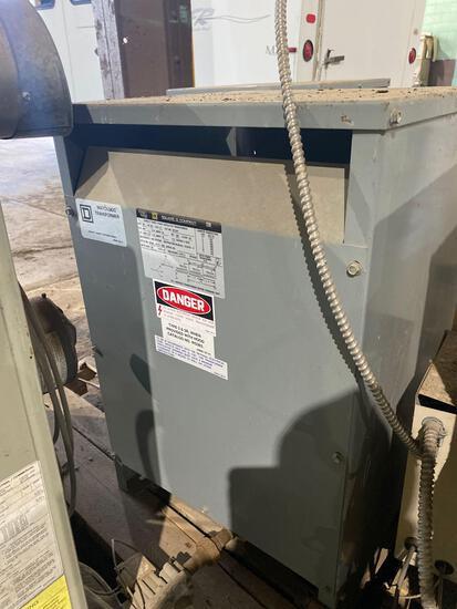 Square D Co WatchDog Transformer-30 KVA, 60hz, sty no 33749-17212-058