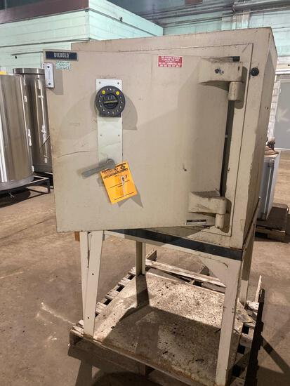 Diebold Co 33in x 33in Safe on Steel Stand