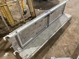 (2) Werner Aluminum 7ft x 18in Scaffold Planks