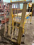 (1) section of older scaffold, no wheels/planks/stilts