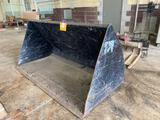 Standard 7.5 ft Telehandler Material Bucket