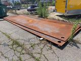 20ft x 8ft x 1in Steel Road Plate