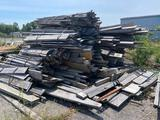 Large stack of Reclaimed Barn Lumber