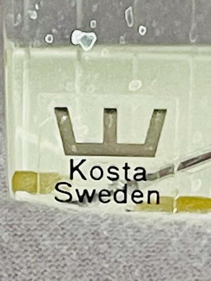 Mid-Century Modern Kosta Boda Crystal Prism by Vicke Lindstrand