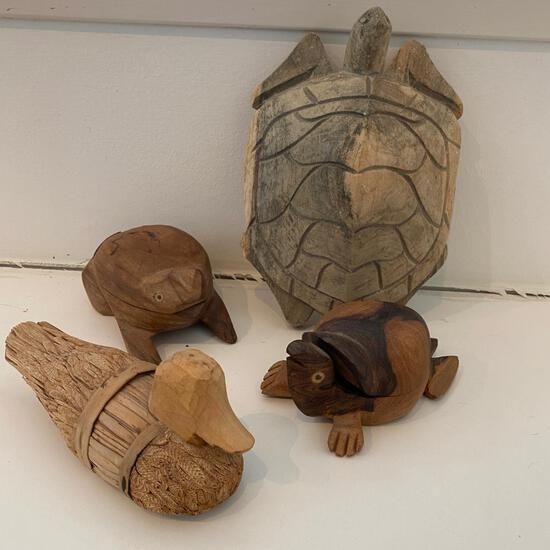 Carved Sea Life Collection