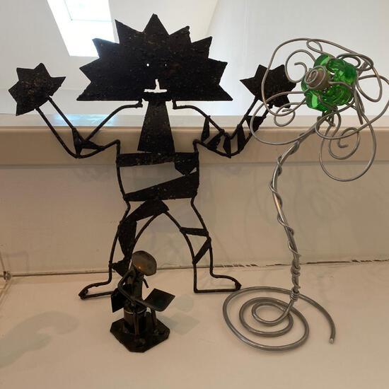 Decorative Metal Sculptures