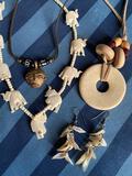 Bone, Shell and Copper Jewelry