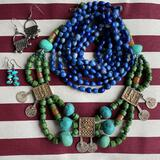 Blue and Turquoise Jewelry