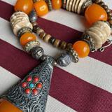 Gorgeous Large Beaded Necklace